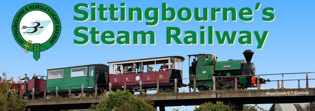 Sittingbourne's Steam Railway, Kent, Uk